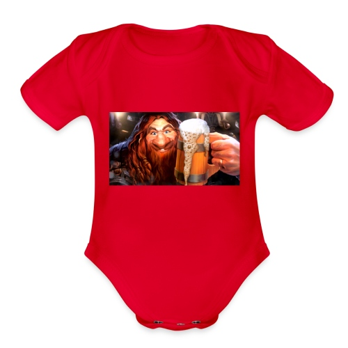 Hearthstone Innkeeper - Organic Short Sleeve Baby Bodysuit