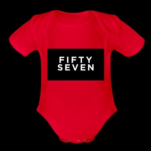 Fifty-Seven - Organic Short Sleeve Baby Bodysuit