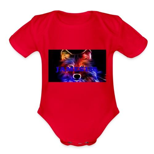 james126 - Organic Short Sleeve Baby Bodysuit