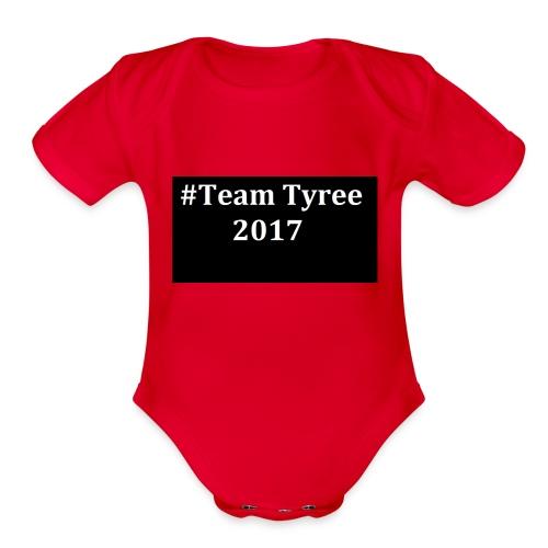 Team_tyree - Organic Short Sleeve Baby Bodysuit