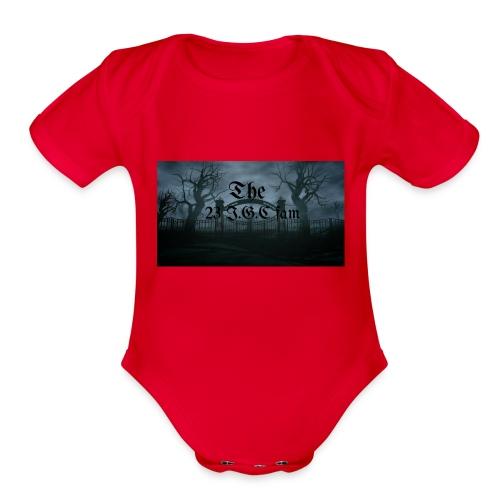 23 I.G.C fam - Organic Short Sleeve Baby Bodysuit