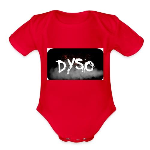 Dyso Platinum design - Organic Short Sleeve Baby Bodysuit