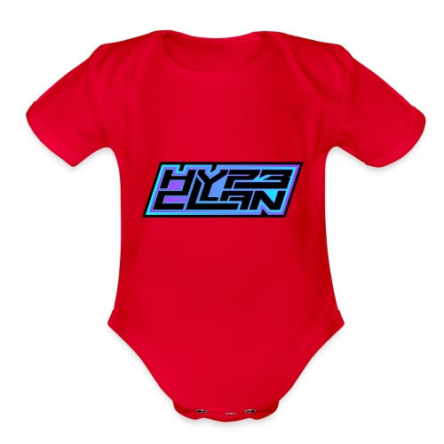 HYP3 Clan - Organic Short Sleeve Baby Bodysuit