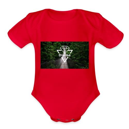 Divine - Organic Short Sleeve Baby Bodysuit