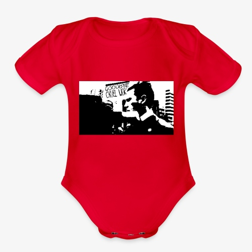 The Punch - Organic Short Sleeve Baby Bodysuit
