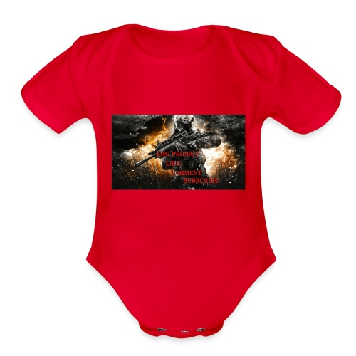 NMG Prodigy - Organic Short Sleeve Baby Bodysuit