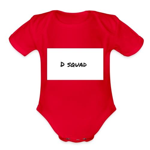 DK 4 - Organic Short Sleeve Baby Bodysuit