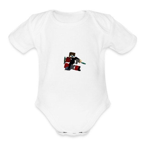 Batpixel Merch - Organic Short Sleeve Baby Bodysuit