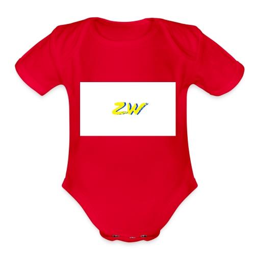 IMG 1433 - Organic Short Sleeve Baby Bodysuit