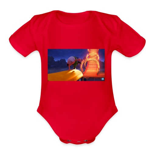 Mr krupp / aptain underpants dresssed - Organic Short Sleeve Baby Bodysuit