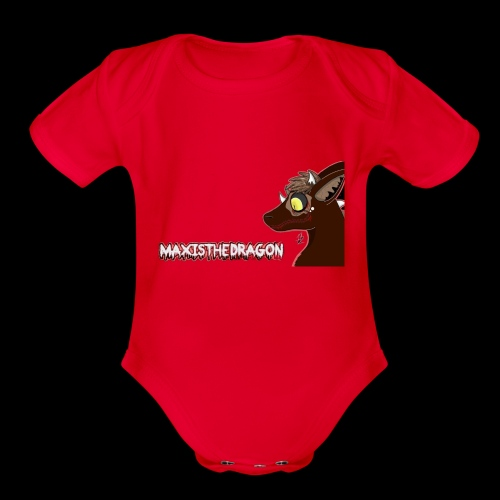 Halloween Maxis Design - Organic Short Sleeve Baby Bodysuit