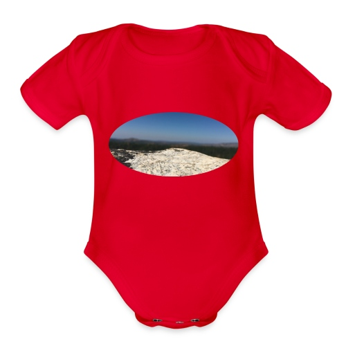 Rock - Organic Short Sleeve Baby Bodysuit