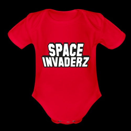 Space Invaderz - Organic Short Sleeve Baby Bodysuit