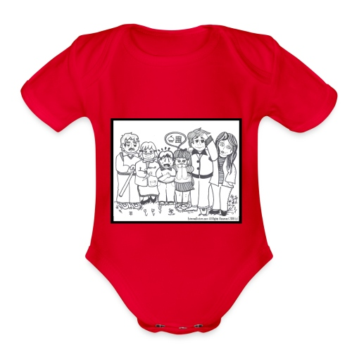 The Extreme Dieters - Organic Short Sleeve Baby Bodysuit