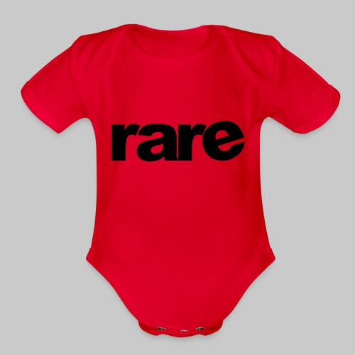 Quality Womens Tshirt 100% Cotton with Rare - Organic Short Sleeve Baby Bodysuit