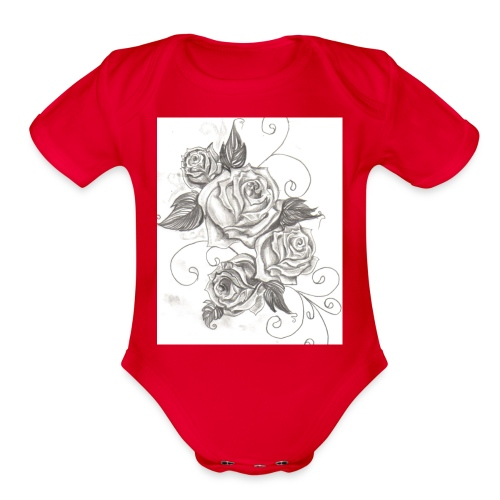 r14 - Organic Short Sleeve Baby Bodysuit