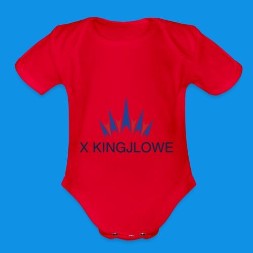 X Collection 7 - Organic Short Sleeve Baby Bodysuit