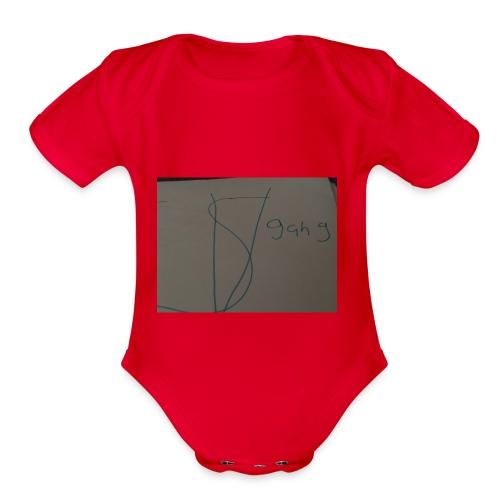 Sv gang kids hoodie - Organic Short Sleeve Baby Bodysuit