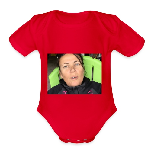 imag - Organic Short Sleeve Baby Bodysuit