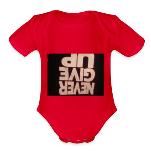 Team 2 play merch - Organic Short Sleeve Baby Bodysuit