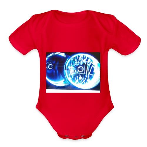 Nice shirt - Organic Short Sleeve Baby Bodysuit