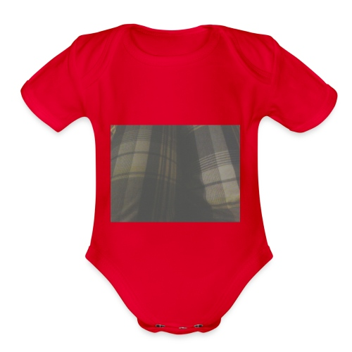 Carl the cool - Organic Short Sleeve Baby Bodysuit