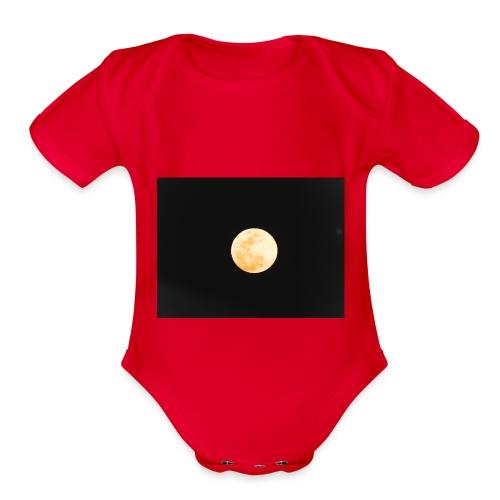Luna2 - Organic Short Sleeve Baby Bodysuit