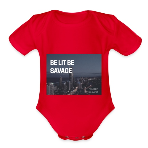 1A1F6F55 E6A7 4D49 A5E7 34FA9B7E83D6 - Organic Short Sleeve Baby Bodysuit