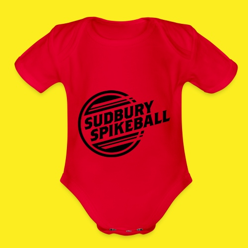 Sudbury Spikeball - Organic Short Sleeve Baby Bodysuit