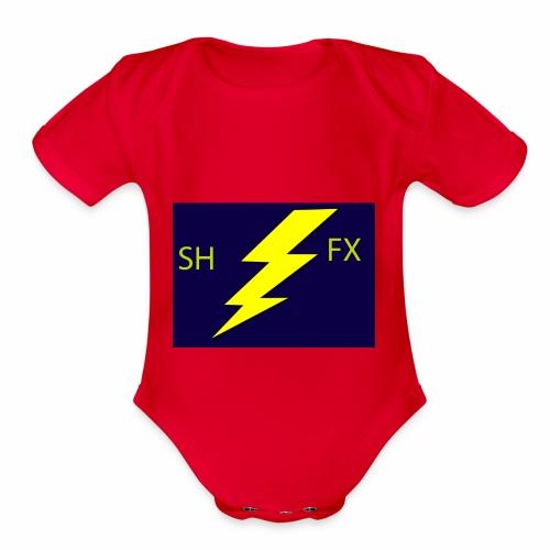nnnnnn - Organic Short Sleeve Baby Bodysuit