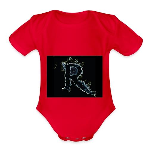445 pin - Organic Short Sleeve Baby Bodysuit