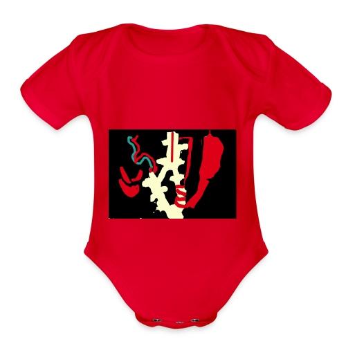 x Ray - Organic Short Sleeve Baby Bodysuit