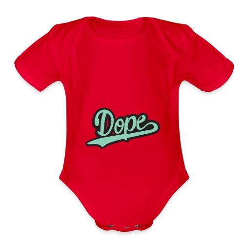 Braelyn Geer - Organic Short Sleeve Baby Bodysuit