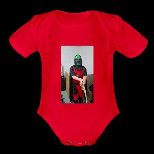 reaper THE EXECTIONER - Organic Short Sleeve Baby Bodysuit
