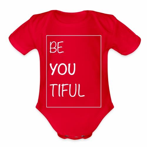 Beautiful - Organic Short Sleeve Baby Bodysuit