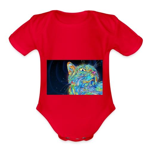 47001252 296C 4D3F B860 8AC87F07FA65 - Organic Short Sleeve Baby Bodysuit