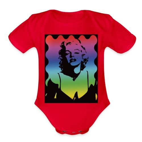 Marylyn M. - Organic Short Sleeve Baby Bodysuit