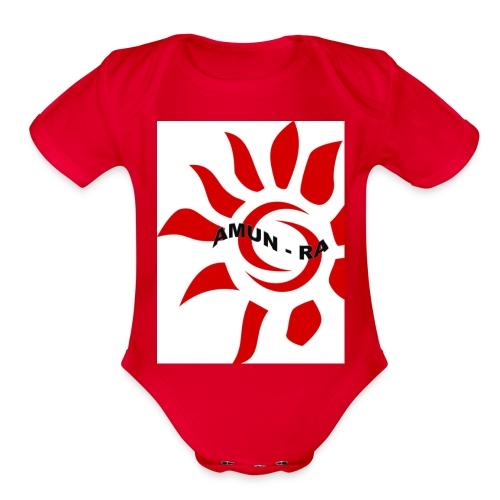 AMUN RA - Organic Short Sleeve Baby Bodysuit