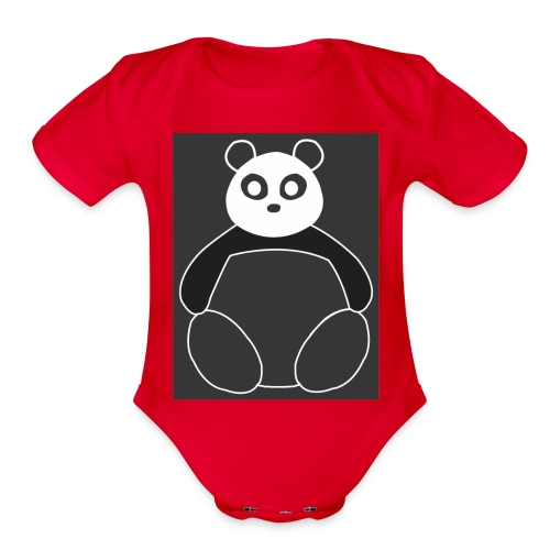 Fat Panda - Organic Short Sleeve Baby Bodysuit