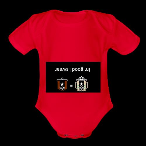 imgudiswear - Organic Short Sleeve Baby Bodysuit