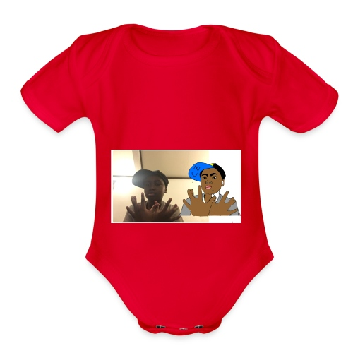 Cheick Zeba - Organic Short Sleeve Baby Bodysuit