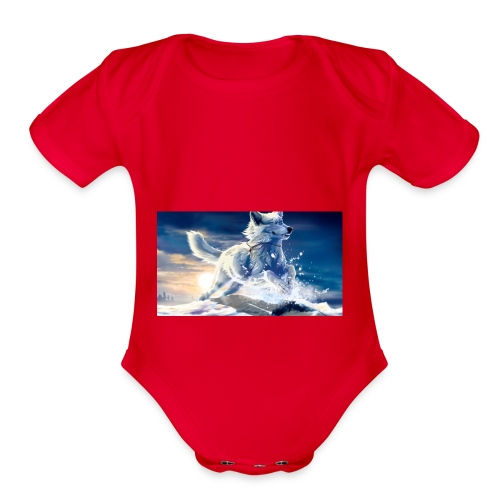 Jazz Bakes - Organic Short Sleeve Baby Bodysuit