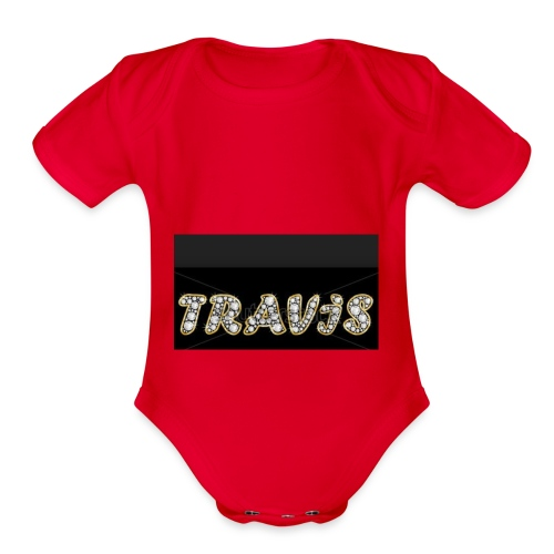 Travis - Organic Short Sleeve Baby Bodysuit