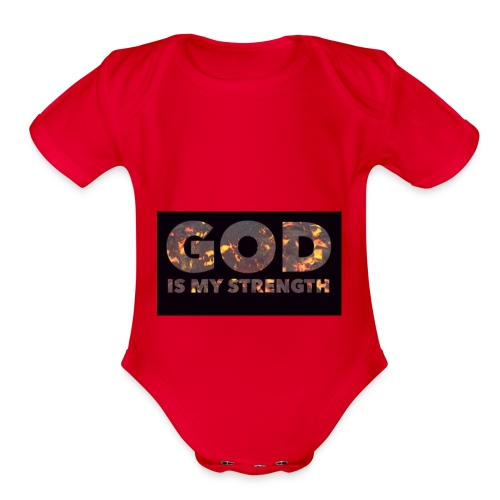 god - Organic Short Sleeve Baby Bodysuit