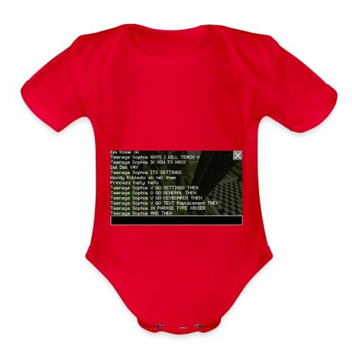 IMG 4901 - Organic Short Sleeve Baby Bodysuit