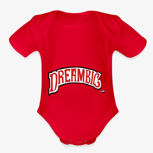 Dream Big - Organic Short Sleeve Baby Bodysuit