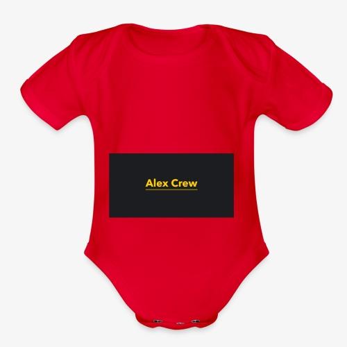 Alex Crew - Organic Short Sleeve Baby Bodysuit