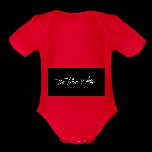 the music within mens hoodie - Organic Short Sleeve Baby Bodysuit