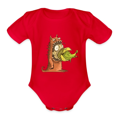 shirt BICHOS - Organic Short Sleeve Baby Bodysuit