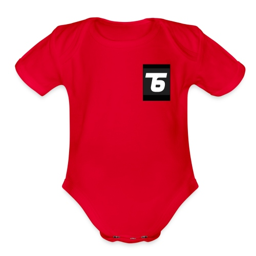 Team6 - Organic Short Sleeve Baby Bodysuit